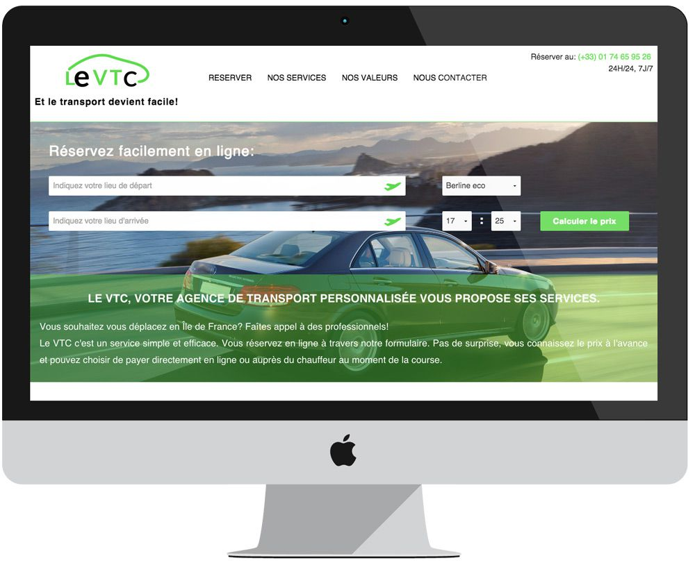 project leVTC - PHP Foundation - VTC - Big screen 1