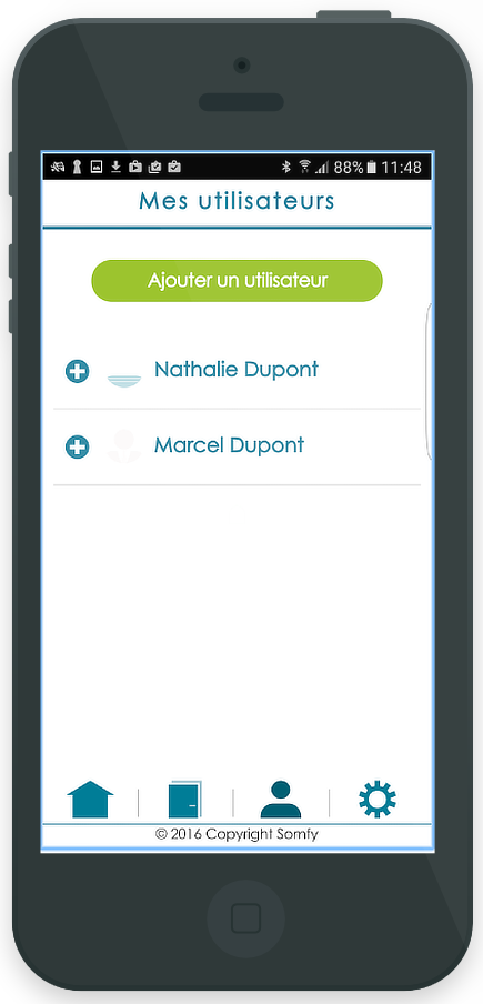 proyecto Opendoors - Android iOS Cordova Ionic - Backend PHP - pantalla 2